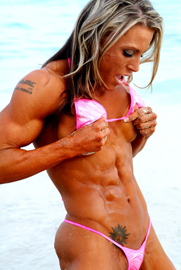 abs woman