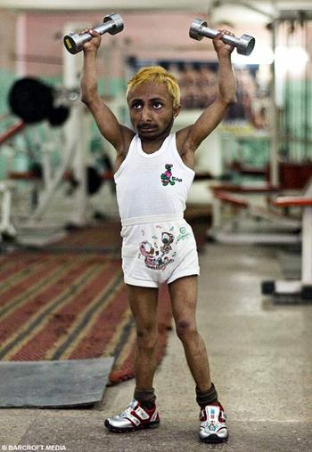 smallest bodybuilder