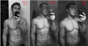 Pic 1: Just Discovered MuscleHack. Pic 3: 1 Year of Hackin' It!