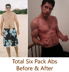 """""""Bagel Guy"""" Gets Ripped With Total Six Pack Abs"""