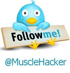 Follow MuscleHack On Twitter