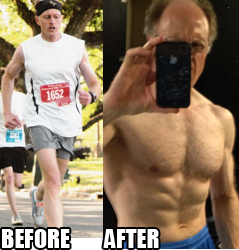 53 Yr Old Reveals His Six-Pack Secret