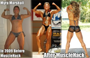 Myra Marshall Before and After