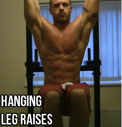 hanging leg hip raises