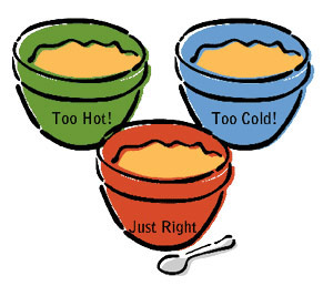 goldilocks-bowls-porridge