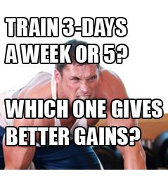 training-3days-a-week