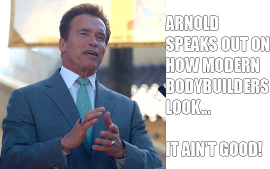 Arnold Schwarzenegger Doesn't Like How Modern Bodybuilders Look