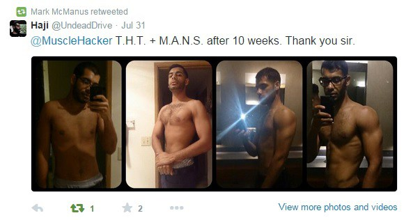 Look At How Much Muscle You Can Build In 10 Wks With Free THT Training