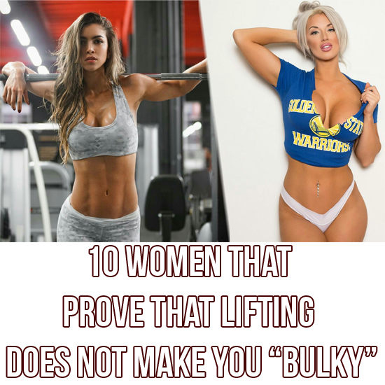 10 Women That Prove That Lifting Does Not Make Females Bulky