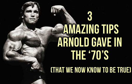 3 Big Things Arnold Got Right About Building Muscle